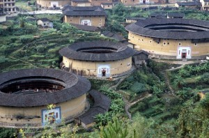 China - Architecture - Tradition - Hakka Tulou Homes